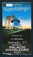 Supertramp (Entrada) - Entradas A Conciertos