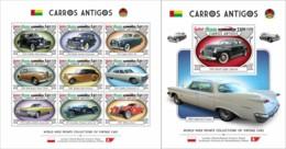 Z08 GB190110ab Guinea Bissau 2019 Vintage Cars MNH ** Postfrisch Set - Guinea-Bissau