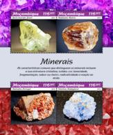 Z08 MOZ190101a Mozambique 2019 Minerals Mineralien MNH ** Postfrisch - Mineralien