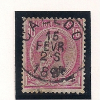 "NR.46-AFSTEMPELING ""CALLOO"" - 1884-1891 Léopold II"