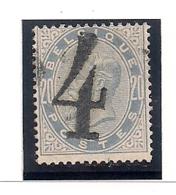NR.39-4-GRAND CHIFFRE-GROOT CIJFER - 1883 Léopold II