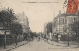 93 VILLEMOMBLE  Avenue Outrebon Et Le Marché - Villemomble