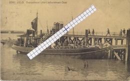 """LILLO-ANTWERPEN""""OVERZETBOOT LILLO-LIEFKENSHOEK-DOEL""""HOELEN N°8560 - Antwerpen"""