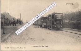 """LILLO-ANTWERPEN """" AANKOMST VAN DE STOOMTRAM-MELKKANNEN"""" HOELEN 1246 UITGIFTE  1905 TYPE 3 - Antwerpen"""