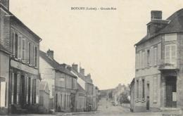 D45 - DOUCHY - GRAND RUE - Café Guinebault - Photographie - France