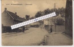 """WILMARSDONCK-WILMARSDONK-ANTWERPEN """" BOULEVARD MET AANKOMENDE STOOMTRAM-TRAM A VAPEUR""""HOELEN 8370 UITGIFTE 1920 TYPE 8 - Antwerpen"""