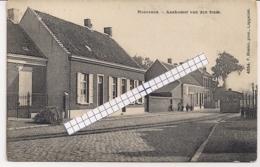 """HOEVENEN-STABROEK """" AANKOMST VAN DE STOOMTRAM-TRAM A VAPEUR """" HOELEN 4954 UITGIFTE 1910 TYPE 5 - Stabroek"""