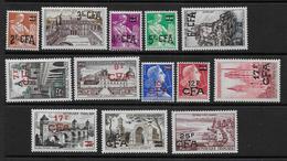 Réunion - Série  331 à 341  **  - Cote : 40 € - Réunion (1852-1975)