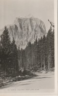 """Mount Temple, 11626 Feet, From Lake Louise, Alberta 3"""" X 4.5""""  7.5 Cm X 11.5 Cm - Géographie"""
