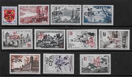 Réunion - Série  320 à 330  **  - Cote : 46 € - Réunion (1852-1975)