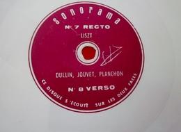 Sonorama N°7 - 1959 -Musique Disque Vinyle Format Spécial Souple-DULLIN -LOUIS JOUVET-PLANCHON à ECOUTER SUR LES 2 FACES - Formats Spéciaux