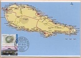 CARTE MAXIMUM- MAXICARD- MAXIMUM KARTE- MAXIMUM CARD- PORTUGAL (AÇORES) - GÉOPARC DE L'ARCHIPEL DES AÇORES- ÎLE DE PICO - Géographie
