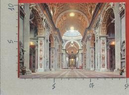 CARTOLINA NV CITTA' DEL VATICANO - Basilica Di S. Pietro - Interno - 10 X 15 - Vatican