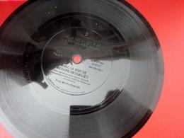 1959 -Musique Disque Vinyle Format Spécial Souple DE DEMONSTRATION-BEETHOVEN VOIX GERARD DESSALLES à ECOUTER SUR 2 FACES - Formats Spéciaux
