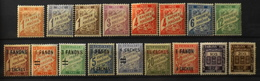 France (ex-colonies & Protectorats) > Inde - Timbre-Taxe 1923-1948 Collection Neufs**/* - TB - Neufs