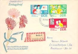 R DDR 1964 FDC  Mi.Nr  1030-32 + 1045-47 + 1048 - DDR