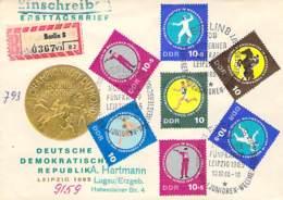 R DDR 1965 FDC  Mi.Nr 1133-37 - DDR