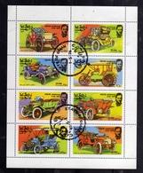 OMAN STATE 1976 VINTAGE CARS AUTO D'EPOCA USA INDEPENDENCE INDIPENDENZA BLOCK SHEET BLOCCO FOGLIETTO BLOC USED OBLITERE' - Oman