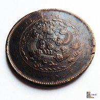China - 10 Cash - 1907 - China