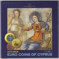 CHYPRE - COFFRET EURO BRILLANT UNIVERSEL 2013 - 8 PIECES (3.88 Euros) - - Zypern