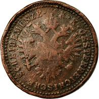 Monnaie, Autriche, Franz Joseph I, Kreuzer, 1851, TB+, Cuivre, KM:2185 - Autriche