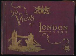 50 VIEWS OF LONDON 25 X 19 CM  - LOOK SCANS - London