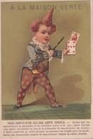 """Vers 1900 Magasin """" à La Maison Verte"""" Confections Rue Marceau à Chartres: Carte à Jouer,tour De Magie,magicien - Autres"""