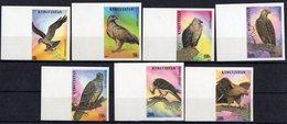 Kyrgyzstan 1995.  Birds Of Prey. Imperforated. Fauna.  MNH** - Aquile & Rapaci Diurni
