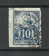 Estonia Estonie 1922 Michel 39 B O - Estland
