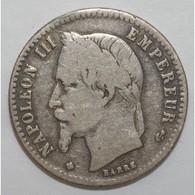 GADOURY 417 - 50 CENT. 1868 BB TYPE NAPOLEON III Tête Laurée - TB - KM 814 - - France