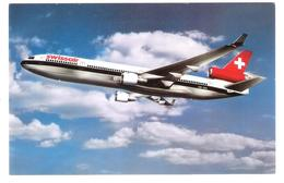 Swissair - McDonnel Douglas MD-11 - Airplane - Plane - Flugzeug - 1946-....: Moderne