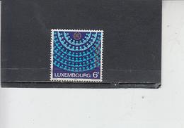 LUSSEMBURGO  1979 - Unificato  943 -  Parlamento Europeo - Lussemburgo