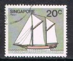 Singapore SG368 1980 Definitive 20c Good/fine Used [15/14412/2D] - Singapore (1959-...)