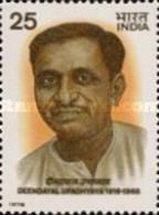 USED STAMPS India - Deendayal Upadhyaya Commemoration-  1978 - India