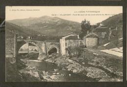 CP - LOZERE-48 - VILLEFORT - Pont St-Jean Et Les Contreforts Du Mont Lozere - Villefort