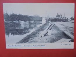 Bruxelles-Maritime : Pont Sur Le Canal (B357) - Transport (sea) - Harbour