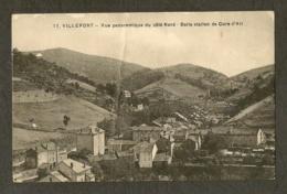 CP - LOZERE-48 - VILLEFORT - Vue Panoramique Du Côté Nord - Belle Station De Cure D'Air - Villefort