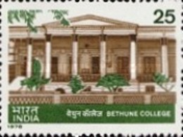 USED STAMPS India - The 100th Anniversary Of Bethune College -  1978 - India