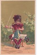 Vers 1900 Mercerie Laigneau Place Marceau à Chartres : L'aiguille (couture, Tricot ,poupée) - Autres