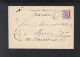 Dt. Reich GSK 1888 Darmstadt-Bessungen Berlin - Deutschland