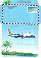 NEW CALEDONIA 1996 AEROGRAMME-AIRLETTER 1 Photo-stamps UNUSED - Nueva Caledonia