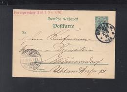 Dt. Reich GSK 1896 Berlin 56 Nach Wilmersdorf - Deutschland