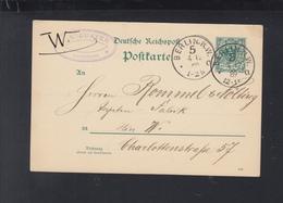 Dt. Reich GSK 1889 Berlin 5 - Deutschland