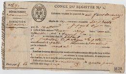 VP14.537 -  POITIERS 1828 - Laissez Passer ..... - Collections