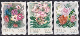 Repubblica Italiana, 1981 - Fiori D'Italia - Nr.1548/1550 MNH** - Flora