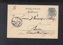 Dt. Reich GSK 1892 Berlin 14 - Deutschland