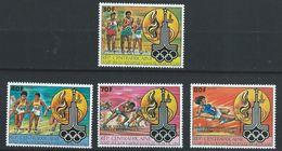 Centrafrique YT 462-465 XX / MNH Sport - Central African Republic