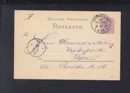 Dt. Reich GSK 1888 Schöneberg Bei Berlin - Briefe U. Dokumente