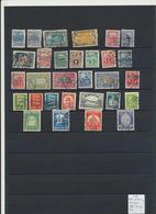 416. Estonia 1918-40 Collection Different Used 30 Stamps Michel CV 60 € - Estonie