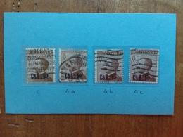REGNO - BLP - Nn. 4-4a-4b-4c Timbrati - Firmati Sorani + Spedizione Raccomandata - 1900-44 Vittorio Emanuele III